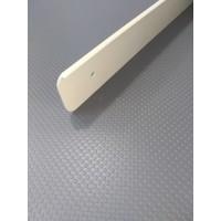 Торцова планка для стільниці LUXEFORM ліва колір RAL1015